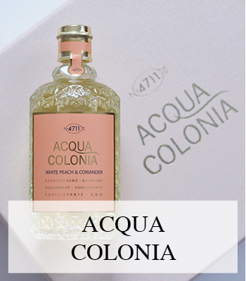 ACQUA COLONIA WHITE PEACH AND CORIANDER NEW FRESH SWEET AND SPICY FRAGRANCES FOR SPRING