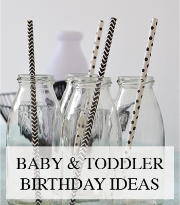 DECORATIE VERSIERING EN TIPS VOOR HET VIEREN VAN BABY'S EERSTE VERJAARDAGSFEEST – DECORATING IDEAS FOR BABY'S FIRST BIRTHDAY PARTY
