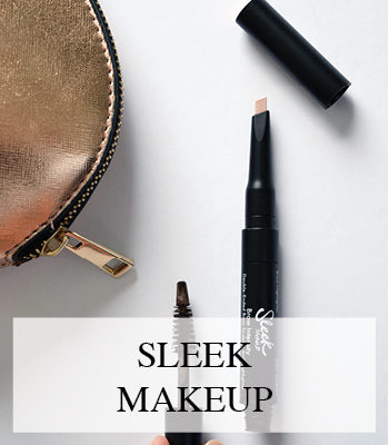 SLEEK MAKEUP BROW INTENSITY AND CLEOPATRA'S KISS SHIMMER HIGHLIGHTING PALETTE