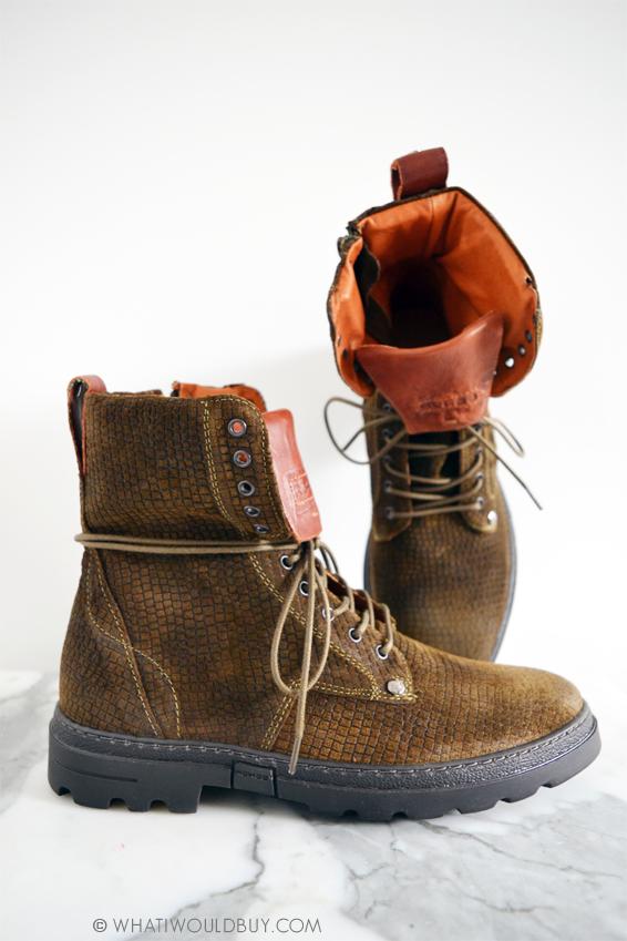 REHAB Footwear Suede Khaki Womens Boots Darcey Vintage - by whatiwouldbuy.com