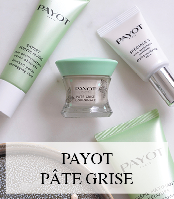 PAYOT PATE GRISE GEZICHTSVERZORGING VOOR VETTE EN ACNE GEVOELIGE HUID SKIN CARE PRODUCTS FOR OILY ACNE PRONE SKIN