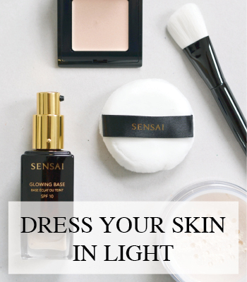 SENSAI FOUNDATION LOOSE POWDER AND ILLUMINATOR – MAKEUP AND SKIN CARE PRODUCTS FALL WINTER 2017