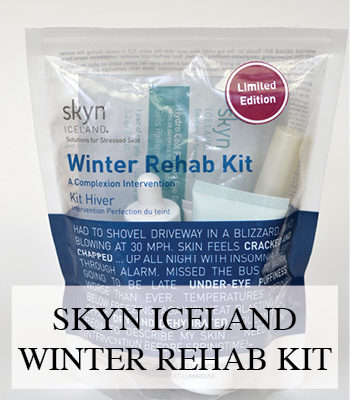 SKYN ICELAND LIMITED EDITION WINTER REHAB KIT VEGAN SCANDINAVIAN SKIN CARE