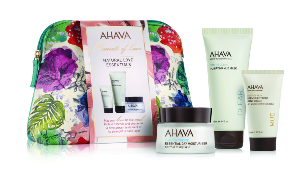 AHAVA Natural Love Essentials Gift Set - The Christmas Gift List by whatiwouldbuy.com