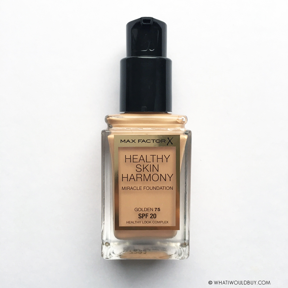 Max Factor by whatiwouldbuy.com - Healthy Skin Harmony Foundation 'Golden'