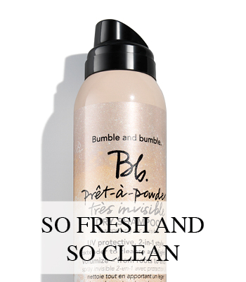 BUMBLE AND BUMBLE DROOGSHAMPOO ZONDER WITTE WAAS DRY SHAMPOO WITHOUT WHITE RESIDUE