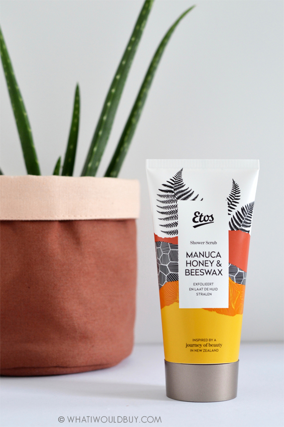 ETOS Journey of Beauty Manuca Honey & BeesWax Shower Scrub