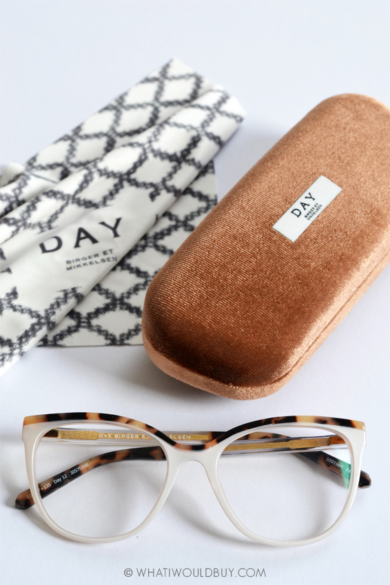 DAY BIRGER two-tone cat eye GLASSES SPECSAVERS