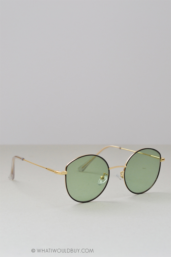 Polette light green sunglasses 'Mariah'
