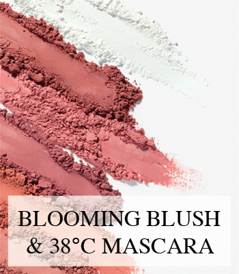 SENSAI LASH VOLUMISER 38°C AND BLOOMING BLUSH