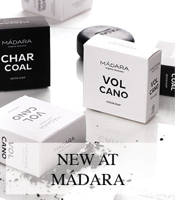 MADARA ORGANIC SKINCARE VOLCANO AND CHARCOAL SOAP