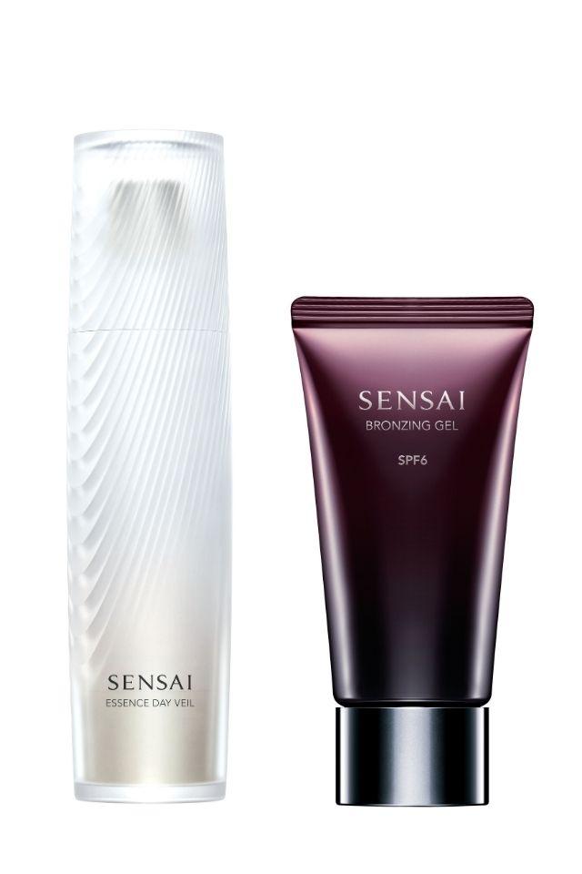 SENSAI ESSENCE DAY VEIL + SENSAI BRONZING GEL